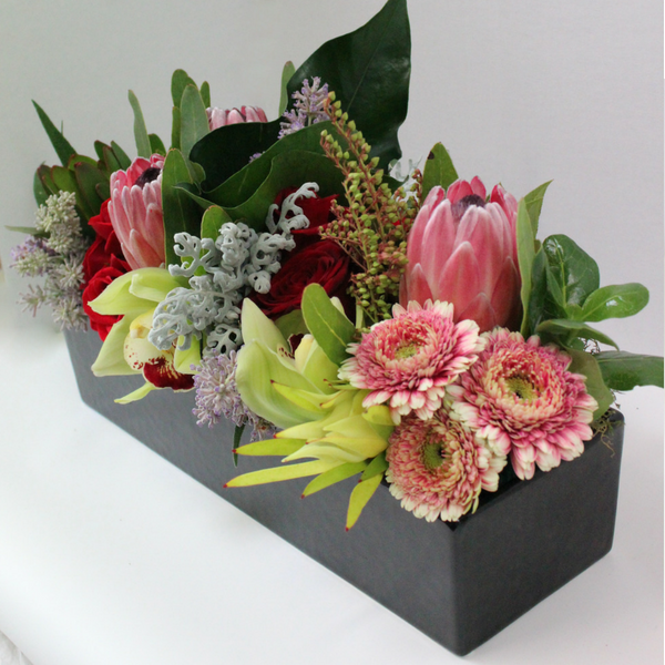 Trough Arrangement - Broadfield Flowers Florist Lincoln, Christchurch