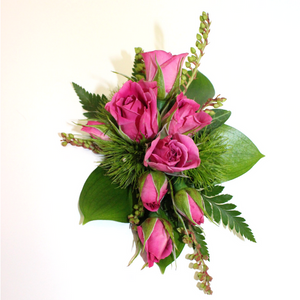 Vertical Wrist Corsage - Broadfield Flowers Florist Lincoln, Christchurch