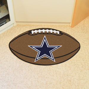 "NFL - Dallas Cowboys Football Rug 20.5""x32.5"""