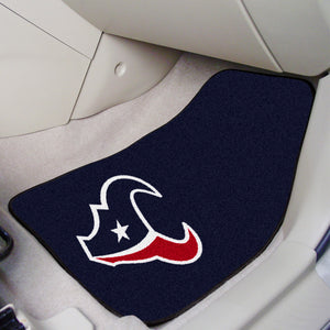 "NFL - Houston Texans 2-pc Carpeted Car Mats 17""x27"""