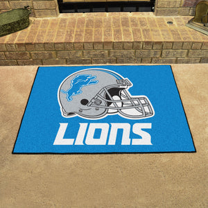"NFL - Detroit Lions All-Star Mat 33.75""x42.5"""