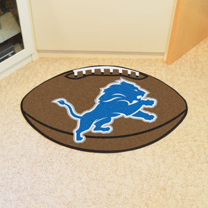 "NFL - Detroit Lions Football Rug 20.5""x32.5"""