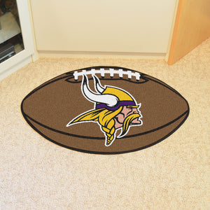 "NFL - Minnesota Vikings Football Rug 20.5""x32.5"""