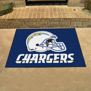 "NFL - Los Angeles Chargers All-Star Mat 33.75""x42.5"""