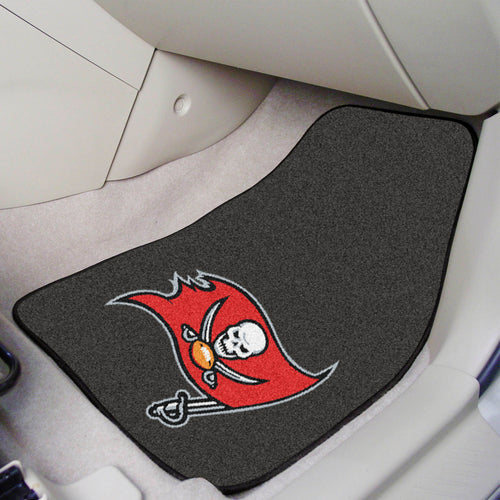 NFL - Tampa Bay Buccaneers 2-pc Carpeted Car Mats 17
