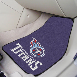 "NFL - Tennessee Titans 2-pc Carpeted Car Mats 17""x27"""