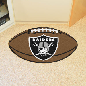 "NFL - Oakland Raiders Football Rug 20.5""x32.5"""