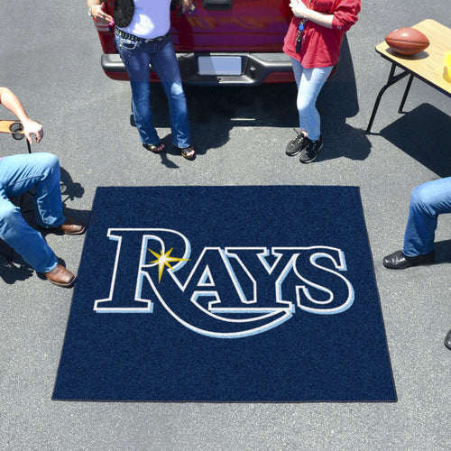 MLB - Tampa Bay Rays Tailgater Rug 5'x6'