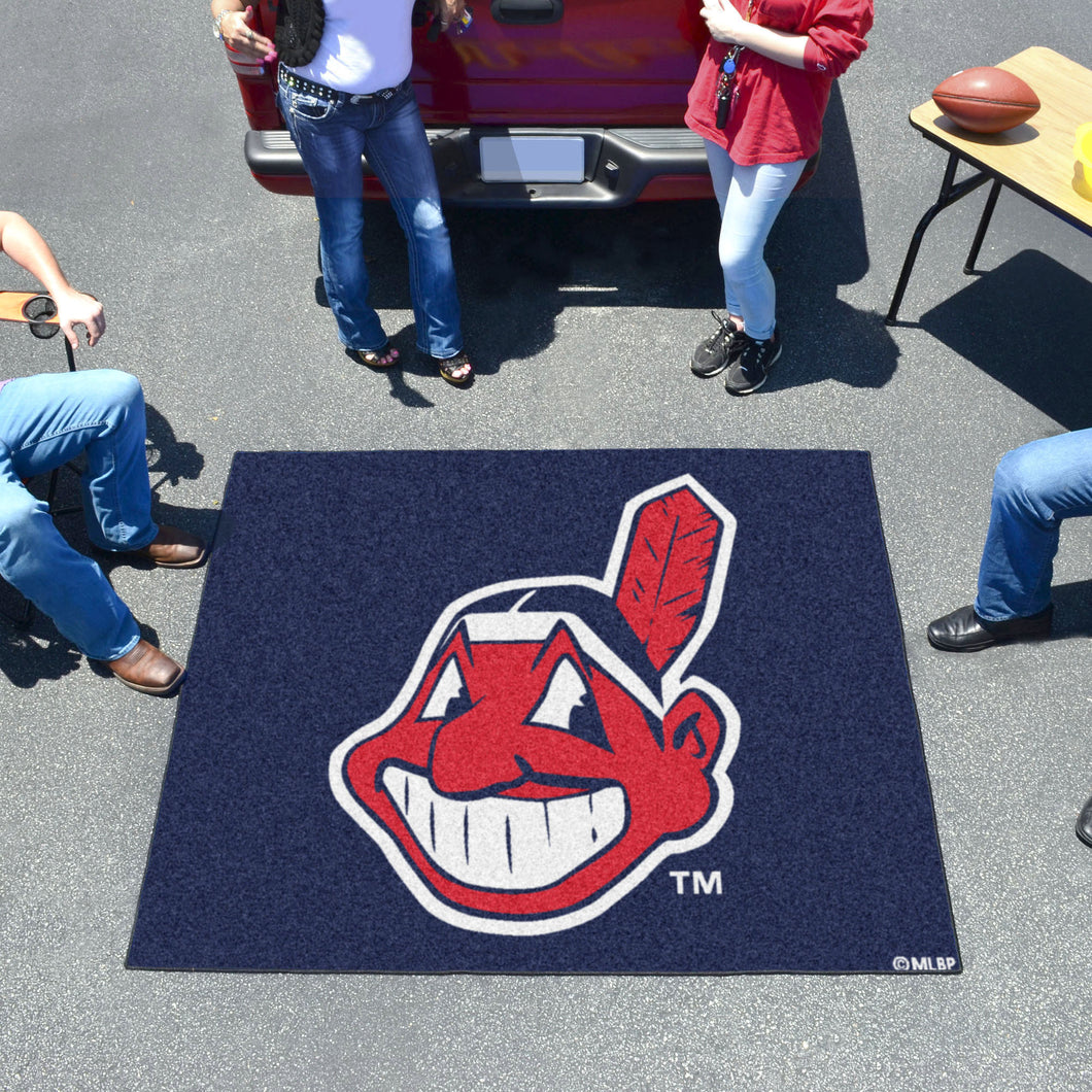 MLB - Cleveland Indians Tailgater Rug 5'x6'