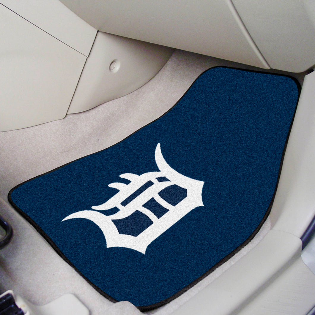 MLB - Detroit Tigers 2-pc Carpeted Car Mats 17