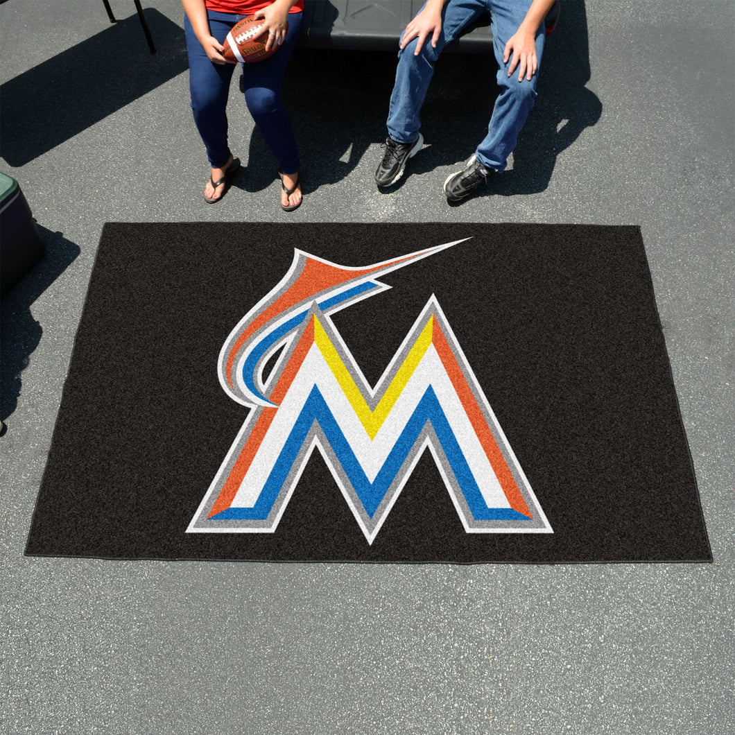 MLB - Miami Marlins Ulti-Mat 5'x8'
