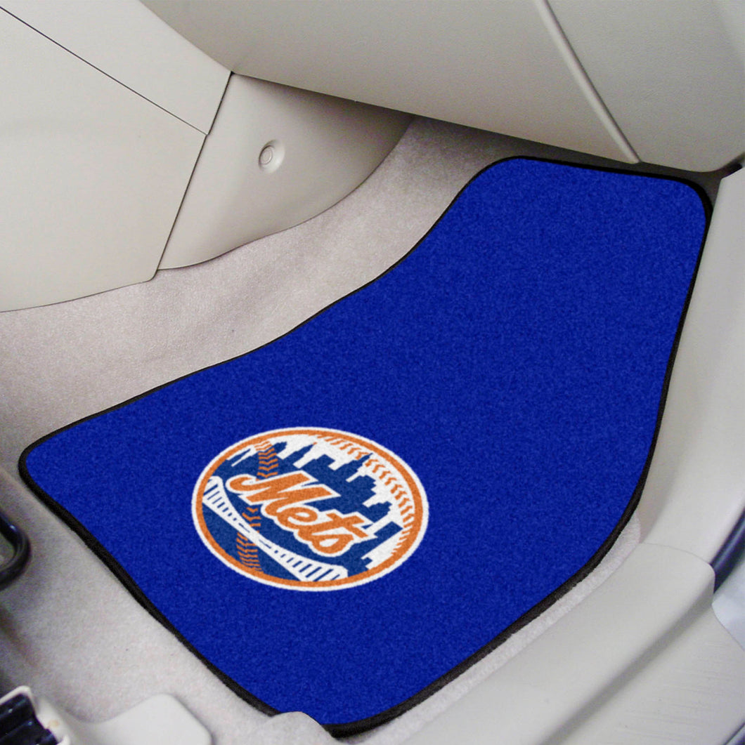 MLB - New York Mets 2-pc Carpeted Car Mats 17