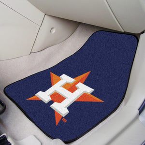 "MLB - Houston Astros 2-pc Carpeted Car Mats 17""x27"""
