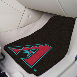 "MLB - Arizona Diamondbacks 2-pc Carpeted Car Mats 17""x27"""