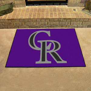 "MLB - Colorado Rockies All-Star Mat 33.75""x42.5"""
