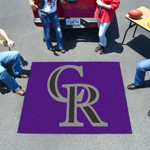 MLB - Colorado Rockies Tailgater Rug 5'x6'