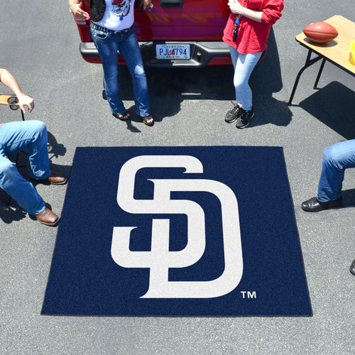 MLB - San Diego Padres Tailgater Rug 5'x6'