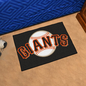 "MLB - San Francisco Giants Starter Rug 19""x30"""
