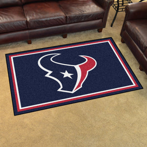 NFL - Houston Texans 4'x6' Rug