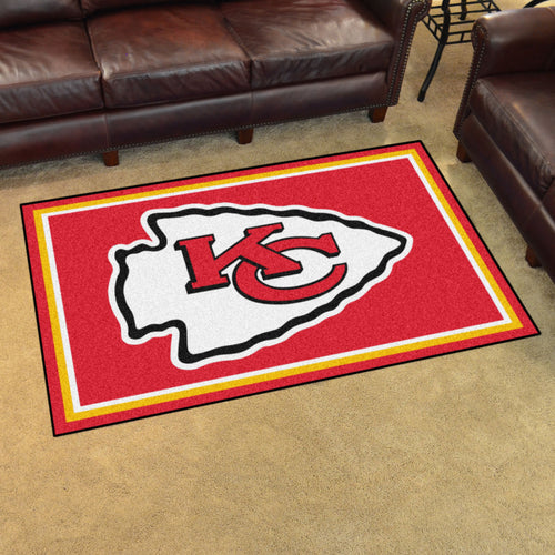 NFL - Kansas City Chiefs 4'x6' Rug