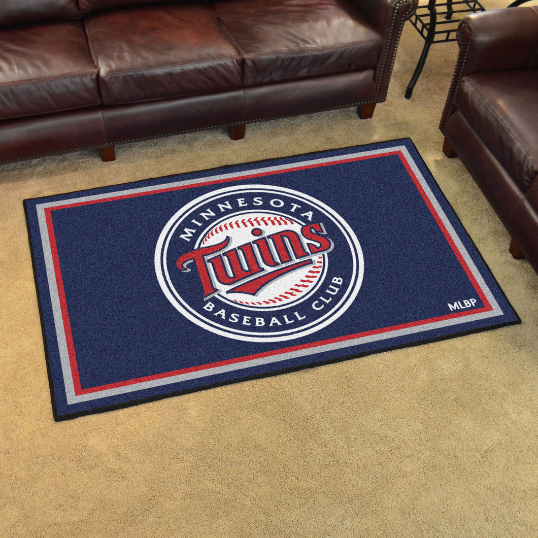 MLB - Minnesota Twins 4'x6' Rug