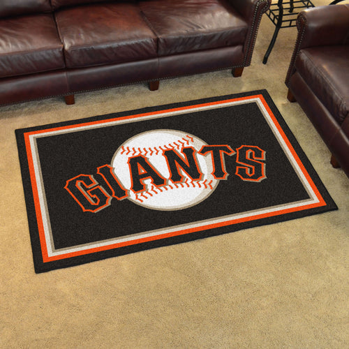 MLB - San Francisco Giants 4'x6' Rug