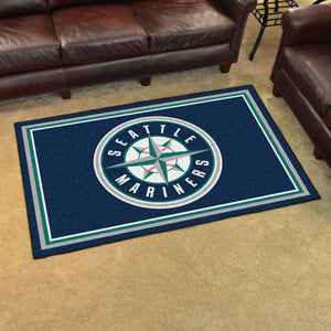 MLB - Seattle Mariners 4'x6' Rug