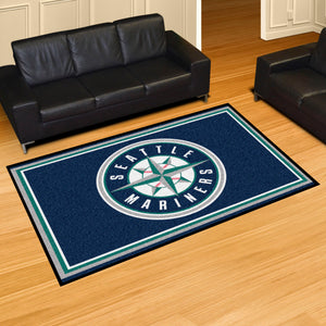 MLB - Seattle Mariners 5'x8' Rug