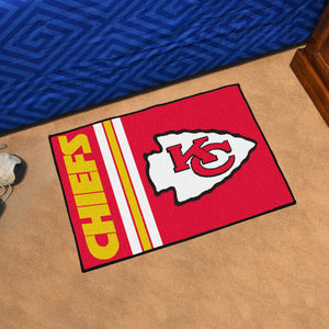 "NFL - Kansas City Chiefs Uniform Starter Rug 19""x30"""