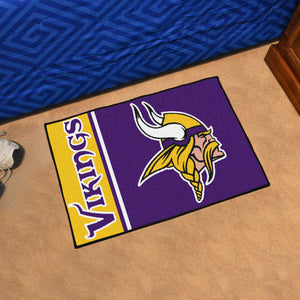 "NFL - Minnesota Vikings Uniform Starter Rug 19""x30"""