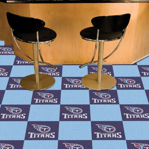 "NFL - Tennessee Titans 18""x18"" Carpet Tiles"