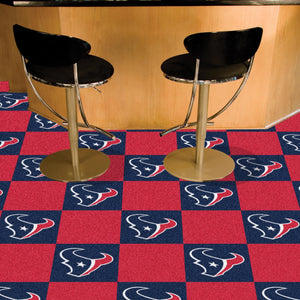 "NFL - Houston Texans 18""x18"" Carpet Tiles"