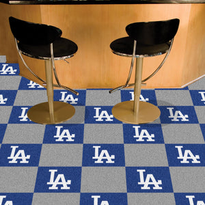 "MLB - Los Angeles Dodgers 18""x18"" Carpet Tiles"
