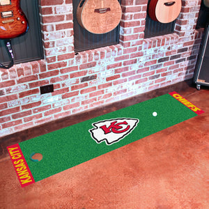 "NFL - Kansas City Chiefs Putting Green Runner 18""x72"""