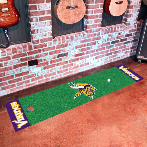 NFL - Minnesota Vikings Putting Green Runner 18