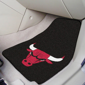 "NBA - Chicago Bulls 2-pc Carpeted Car Mats 17""x27"""