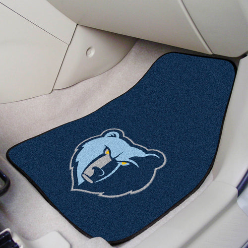NBA - Memphis Grizzlies 2-pc Carpeted Car Mats 17