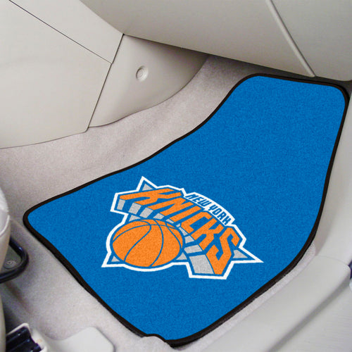 NBA - New York Knicks 2-pc Carpeted Car Mats 17