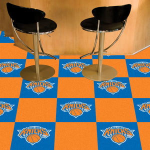 "NBA - New York Knicks 18""x18"" Carpet Tiles"