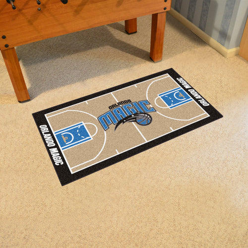 NBA - Orlando Magic Large Court Runner 29.5x54