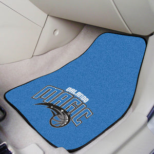 "NBA - Orlando Magic 2-pc Carpeted Car Mats 17""x27"""