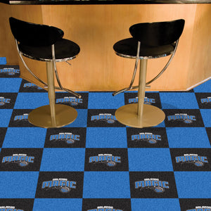 "NBA - Orlando Magic 18""x18"" Carpet Tiles"