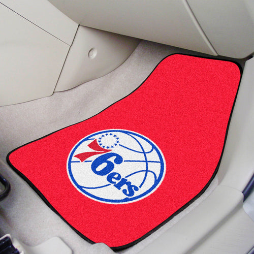 NBA - Philadelphia 76ers 2-pc Carpeted Car Mats 17