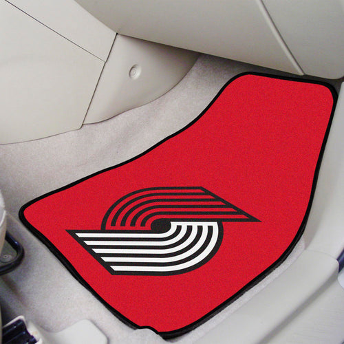 NBA - Portland Trail Blazers 2-pc Carpeted Car Mats 17