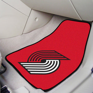 "NBA - Portland Trail Blazers 2-pc Carpeted Car Mats 17""x27"""