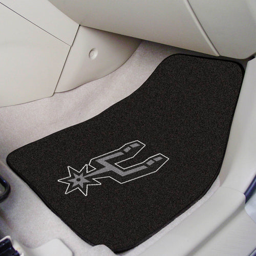 NBA - San Antonio Spurs 2-pc Carpeted Car Mats 17