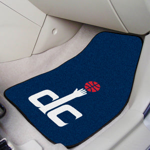 "NBA - Washington Wizards 2-pc Carpeted Car Mats 17""x27"""