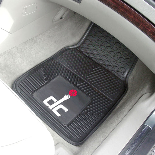 NBA - Washington Wizards 2-pc Vinyl Car Mats 17
