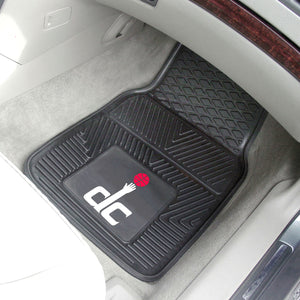 "NBA - Washington Wizards 2-pc Vinyl Car Mats 17""x27"""