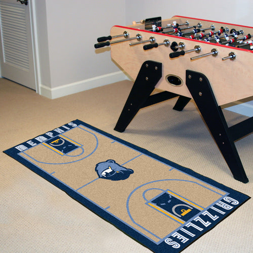 NBA - Memphis Grizzlies NBA Court Runner 24x44